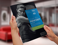 Restyling a Magazine - Fresh design for Aenorm