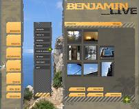 website // benjamin live