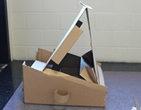 Cardboard Easel w/o Using Glue or Tape