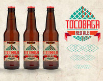 Tocobaga Beer Label