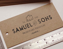 Vintage style logos for small businesses