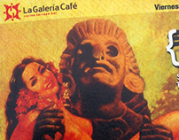 Graphic Design for La Galeria Café
