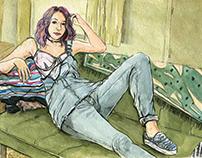 Vivian's Girls- ISSUE Magazine Fashion story