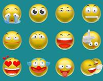 3D emoticon