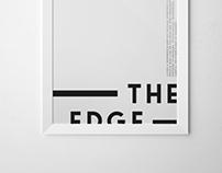Living on the edge - Poster