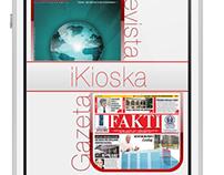 iKioska - First Albanian App with iOS 7 GUI