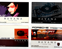Graphic Design for Havana Bistro Bar