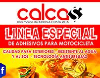 Promocional de Punto de Venta - Calcas CR