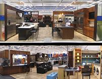 Retail Design - Best Buy Appliance Department
