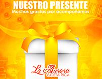Tarjeta de Agradecimiento - Colegio La Aurora