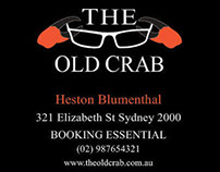 Assignment for Company Branding {The Old Crab} 2013