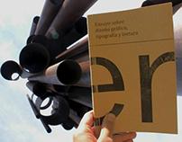 Ensayo sobre Diseño Gráfico, Tipografía y Lectura