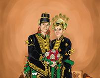 Pernikahan Adat Yogyakarta (Traditional Wedding Yogya)