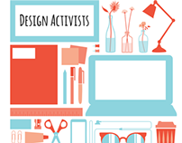 Design Activists -  website interface design