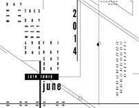 Deconstructed Calendar