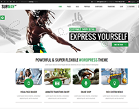 Subway WordPress Theme