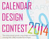 Calendar design contest