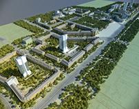 Планировка центра Челябинска