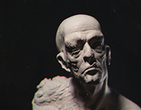 Human Monster Maquette Study