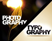 Photography X Typography