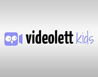 Videolett Kids logo