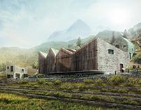 Boka Artist Residence Proposal, Montenegro