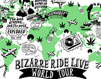 The Pharcyde Tour Map