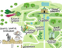 Chatsworth House Estate Map & Easter Trail