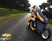 Chevrolet Fuse: Electric Scooter Concept