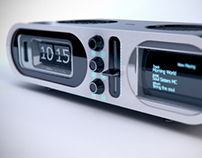 Radio Product Render