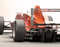 Formula 3D model - TATUUS FA010