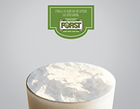 FORST BEER. Print commercial and ambients
