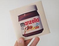 Manzella Quartet New Album cover