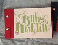 Photo Album for Baby Amelia