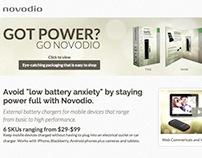 Novodio Landing Page
