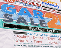 Garage Sale Creative Poster