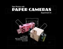 Paper Cameras Web site