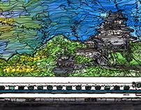 panorama Series Kakegawa Station~noon~