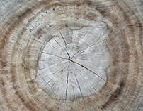 all wood.