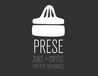 Prese Juice and Coffee : Identity