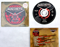 Cover Design for Machete Music Los Angeles CA.