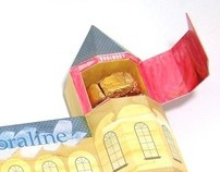 Coraline - Embalagem para Chocolates