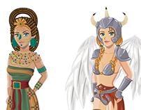 Avatares - Historia