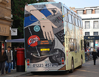 Chypps Double Decker Bus Wrap & A0 Print Series