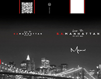 B.A. Manhattan's menu