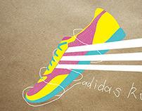 adidas shoes illustrations