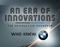 Experiential - BMW Interactive Dealership Showroom