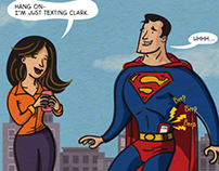How Superheroes Use Social Media