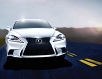 Lexus IS + 2013 OUT100 [Print]