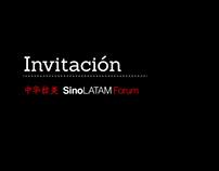 Invitación SinoLATAM